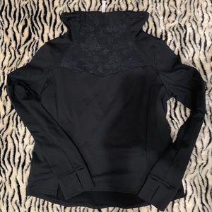 Fabletics lace detail athletic jacket